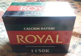Royal Deep Cycle Battery 1150K 105Amp 12V