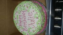Birthday cakes, end of year cakes, Christmas cakes, list is endless...