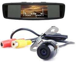 Conceptronic Car Reverse Camera with 4.5' LCD Monitor & recorder