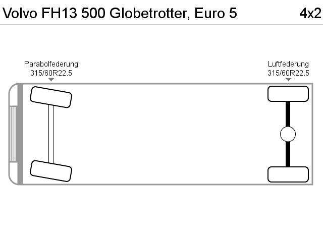 Volvo Fh13 500 Globetrotter, Euro 5 - 2012 - image 11