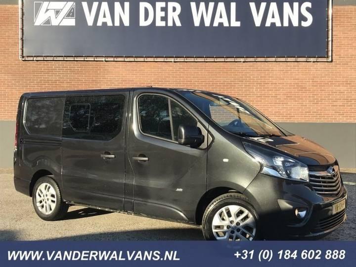 Opel Vivaro 1.6CDTI L1H1 SPORT Airco Navi Cruise Camera 2x - 2015