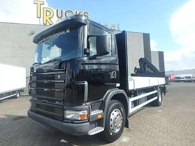 Scania G94 230 + HMF 13TON/M REMOTE!! - 2002