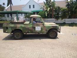 Ex SADF Land Rover Series 3 Single Cab 109inch Bakkie - License and Pa