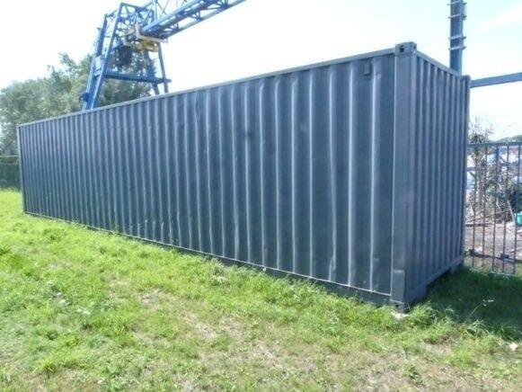 Sale maritime container 40 foot 40 feet container for  by auction