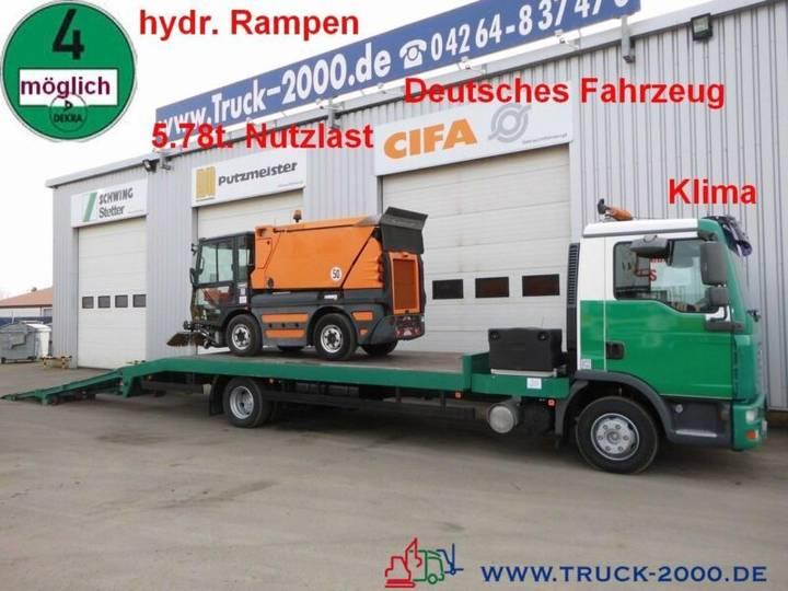 MAN TGL 12.210 Baumaschinentransporter 5,8 to. NL - 2006