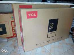 Best deal 28 Inches TCL digital tv(free delivery)