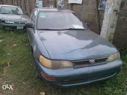 Used but not registered Toyota Corolla 1996 model
