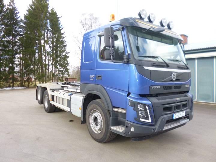 Volvo Fmx Obs Miltal 7029 Fm500 6x2 Euro 6 - 2015