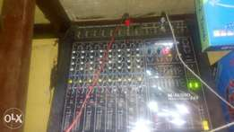 M Audio 8 channel mixer