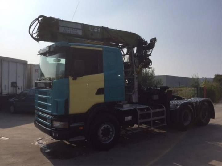 Scania 144-530 6X4 - 2000