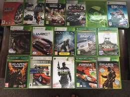 XBox 360 console and 15 games combo for sale