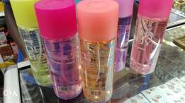 Body mist 250ml and bath and body care shower gel 1litre.