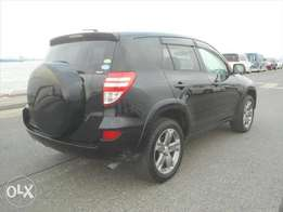 Black RAV 4WD Vvti with Back Tyre