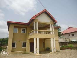 Tastefully finished 5bedroom detached duplex + 2 bedroom Bq.
