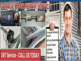 Garage door installation and servicing