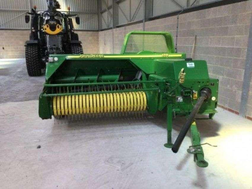 John Deere 459 baler - £9,950 + vat - 2010 for sale   Tradus