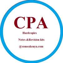 CPA notes and Revision kits in Hardcopies (Printed and Binded)
