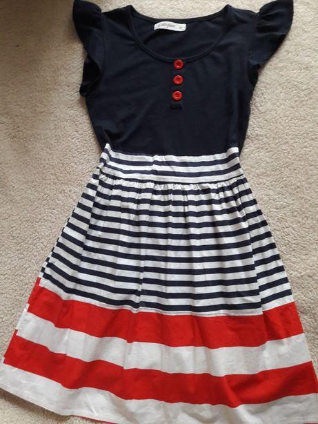fc81bef164d Летнее платье для девочки в морском стиле на 10-12 лет Кривой Рог -  изображение