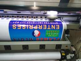 Large format printer second hand working