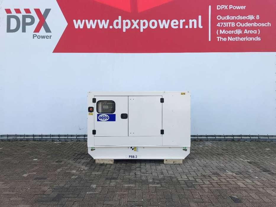 FG Wilson P88-3 - 88 kVA Generator - DPX-16007 - 2019