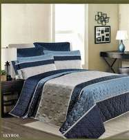 High Qulity Cotton Duvet Cover Set 5PCS Size : 275x260