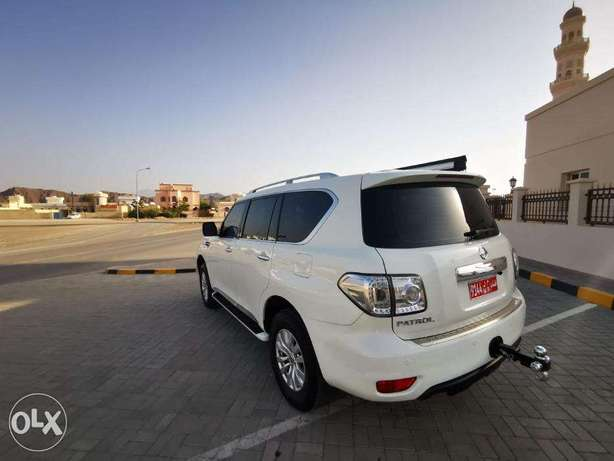 Nissan Patrol is very good has excellent maneuverability and high perf