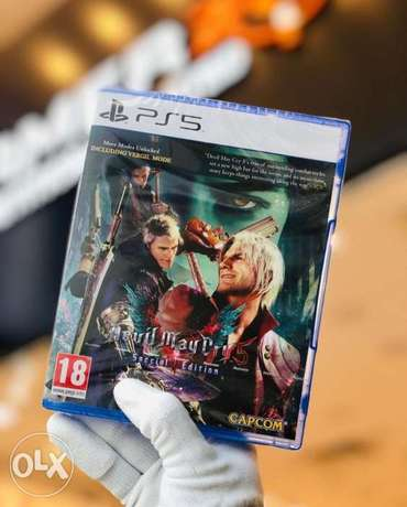 Devil may cry5 special edition Available Now