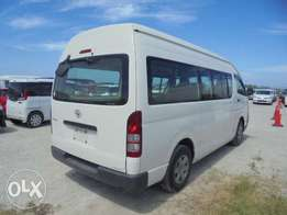 TOYOTA / HIACE VAN CHASSIS # KDH221-640 year 2009