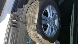 Mag with tyre