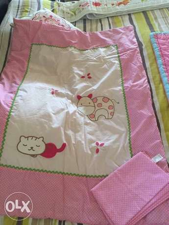 Juniors Brand blanket and a bed sheet for baby and toddler