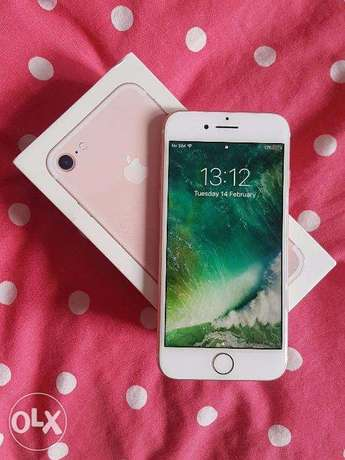 iphone 7 in box rose gold 128 gb unlock with warranty