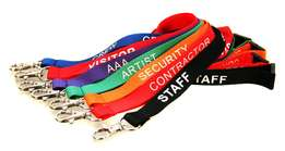 Lanyards(lanyard),name tags (tag),plaques,engraving,wristbands.