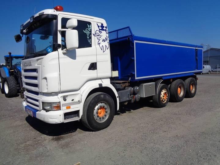 Scania R 480 8x4 - 2007
