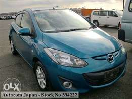New shape mazda demio (sky active)