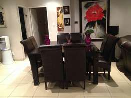 8 seater solid wood dining table for sale