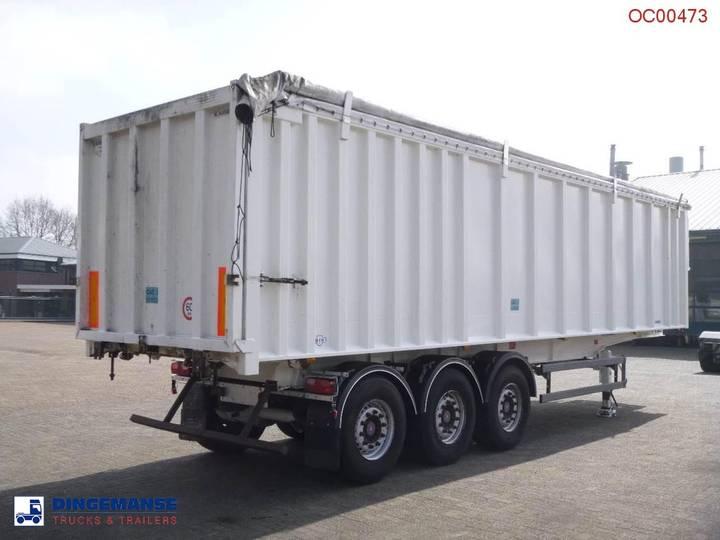 Robuste Kaiser Tipper alu / chssis steel 49 m3 /waterclosed body - 2009