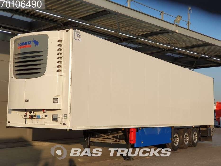 Schmitz Cargobull SCB*S3B 3 axles Doppelstock Liftachse Palettenkasten - 2017