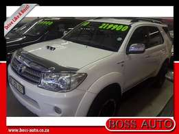 2010 Toyota Fortuner 3.0 D-4D R/Body