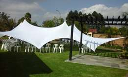 Stretch tents to hire