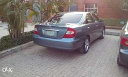 Toyota Camry le 2004 ,AC okay accident free