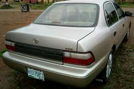 Very neat Toyota corolla nothing to repair