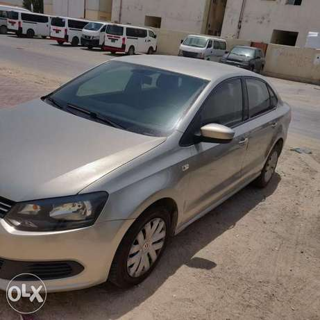 Volkswagen polo 2014 for sale Qar 25000 ( Negotiable price ,)