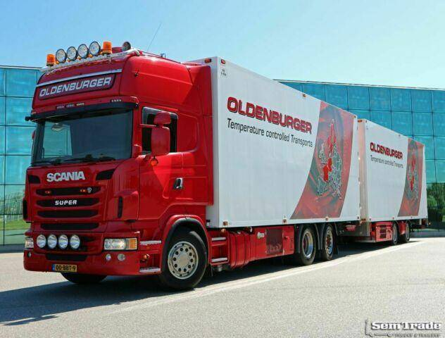 Scania R480 6X2 EURO 6 MANUAL RETARDER THERMO KING 50 C - 2013