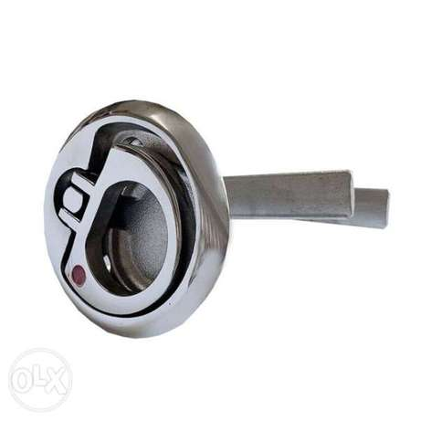 BOAT MARINE Stainless Steel Latching Non-Locking Hatch Lift Handle