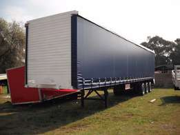 Triaxle tautliner at a bargain price