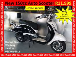 New 150cc Scooter Fully Automatic