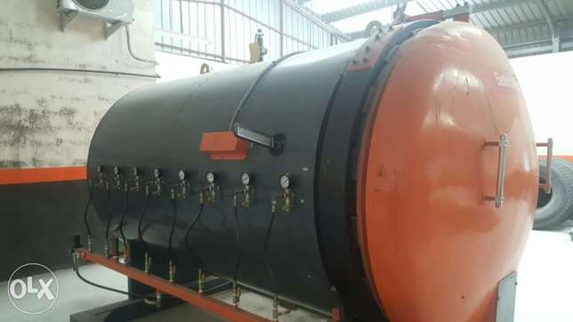 MRF Re-Treading Machinery for Sale