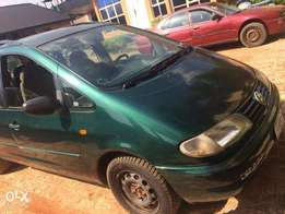 Volkswagen Sharan 1999 Green (Is in Asaba)