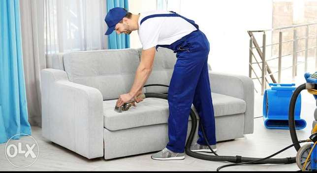 Sofa cleaning labor