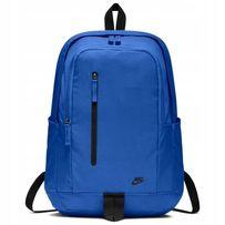 ccd5e9a9ce503 NIKE BA5532 plecak szkolny sportowy all access niebieski duży !